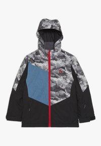 Ziener - AVAN JUNIOR - Ski jacket - black - 0