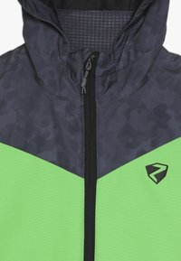 Ziener - AVAN JUNIOR - Ski jacket - black/green - 4