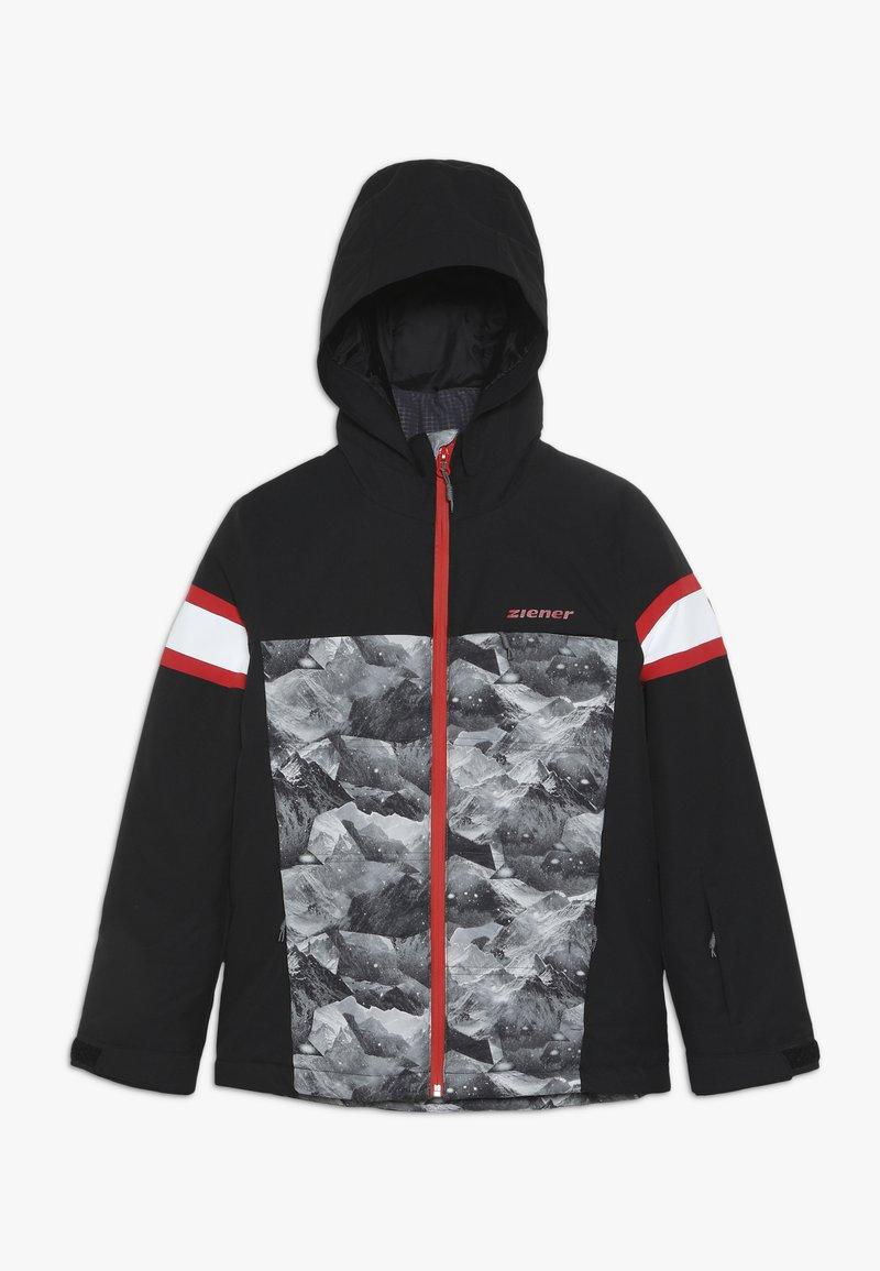 Ziener - ALIAM JUNIOR - Ski jacket - black