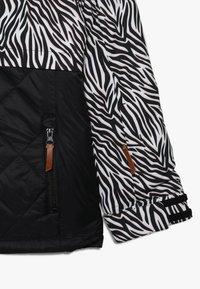 Ziener - ALULA JUNIOR - Ski jacket - black - 3