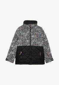 Ziener - ALULA JUNIOR - Ski jacket - black - 4