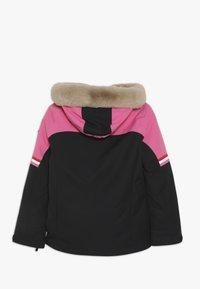 Ziener - ATHILDA JUNIOR - Ski jacket - black/pink dahlia - 2