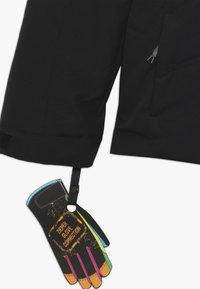 Ziener - ATHILDA JUNIOR - Ski jacket - black/pink dahlia - 3