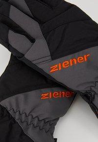Ziener - AGIL JUNIOR - Handschoenen - black - 3