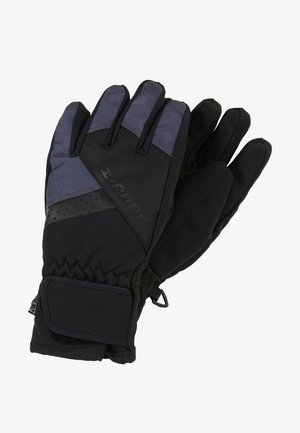 LOX AS® JUNIOR - Fingerhandschuh - black/grey night camo