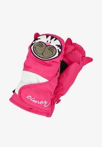 Ziener - LAFAUNA AS® MINIS - Mittens - pop pink - 0