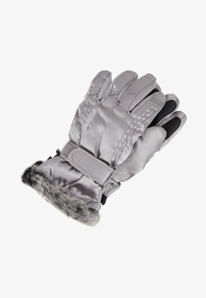 Ziener - LIM GIRLS - Gloves - metallic silver