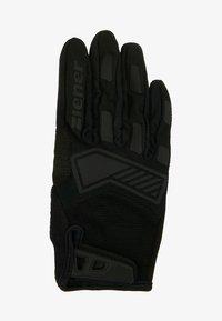 Ziener - CAMET TOUCH LONG BIKE GLOVE - Handsker - black - 2