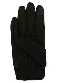 Ziener - CAMET TOUCH LONG BIKE GLOVE - Handsker - black - 3