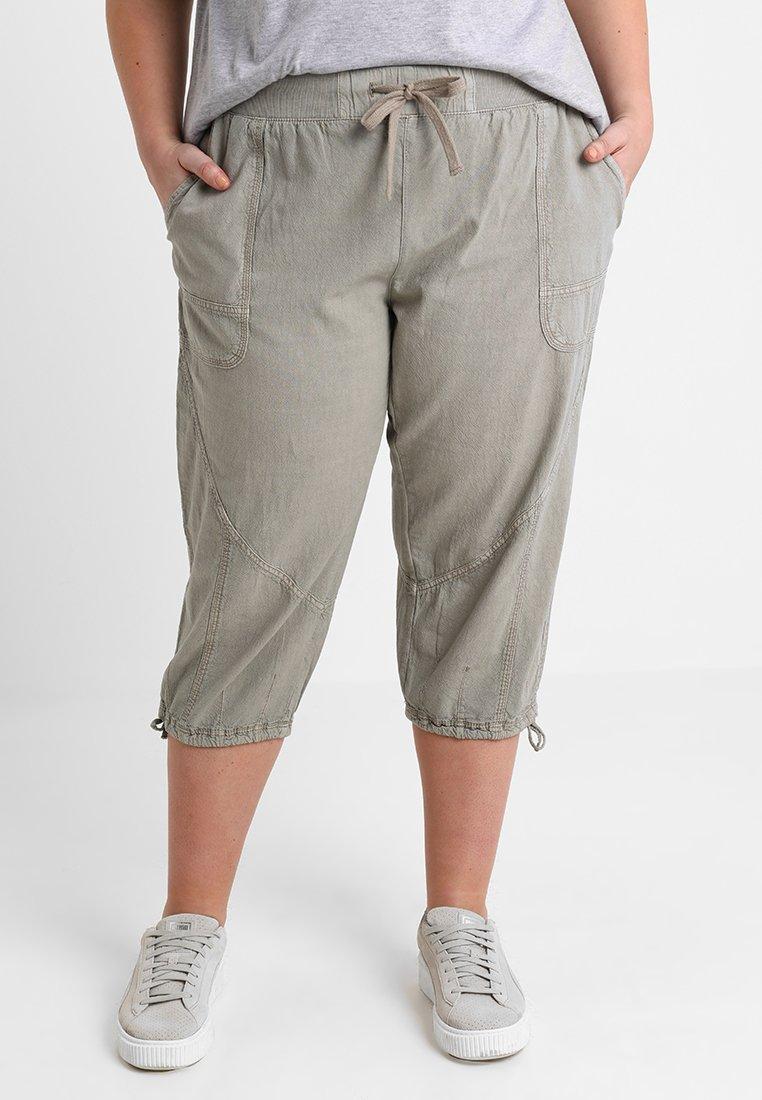Zizzi - MARRAKESH KNICKERS - Shorts - elephant skin