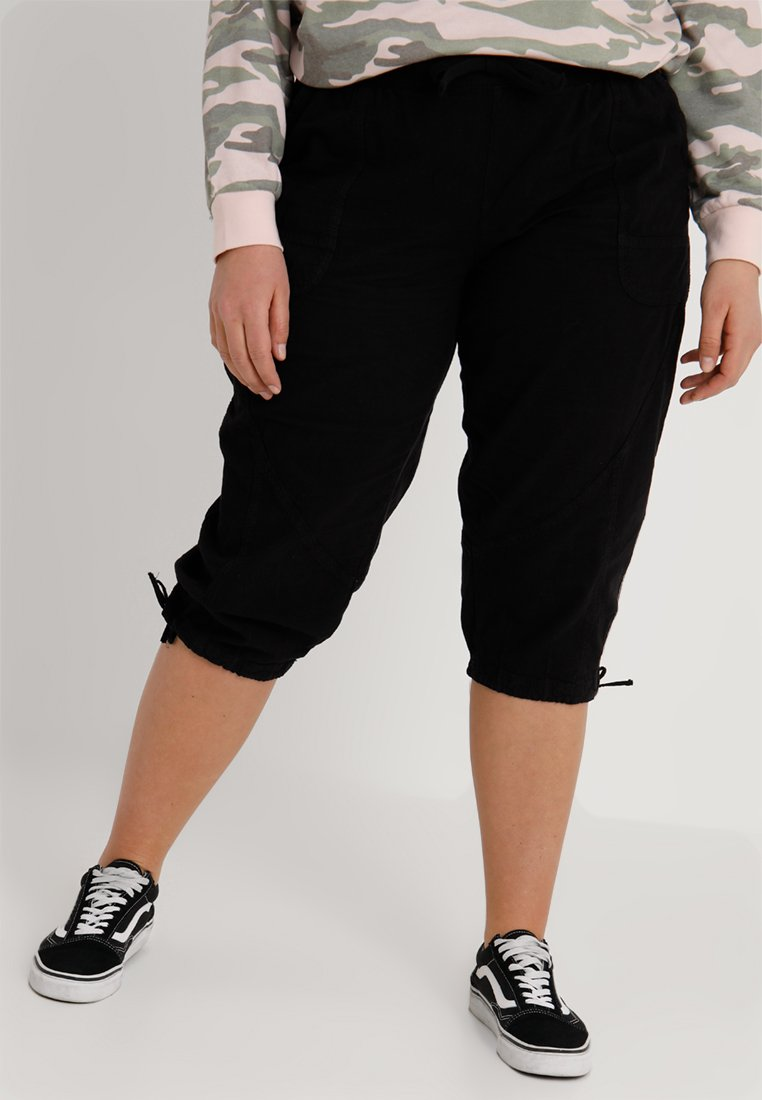 Zizzi - MARRAKESH KNICKERS - Shorts - black