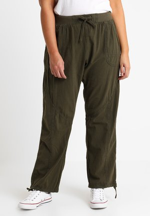 MMARRAKESH LONG PANT - Trousers - ivy green