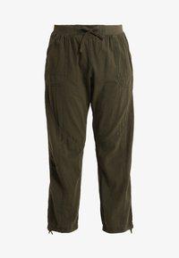 Zizzi - MMARRAKESH LONG PANT - Trousers - ivy green - 4