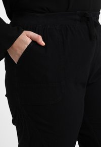 Zizzi - MMARRAKESH LONG PANT - Trousers - black - 4