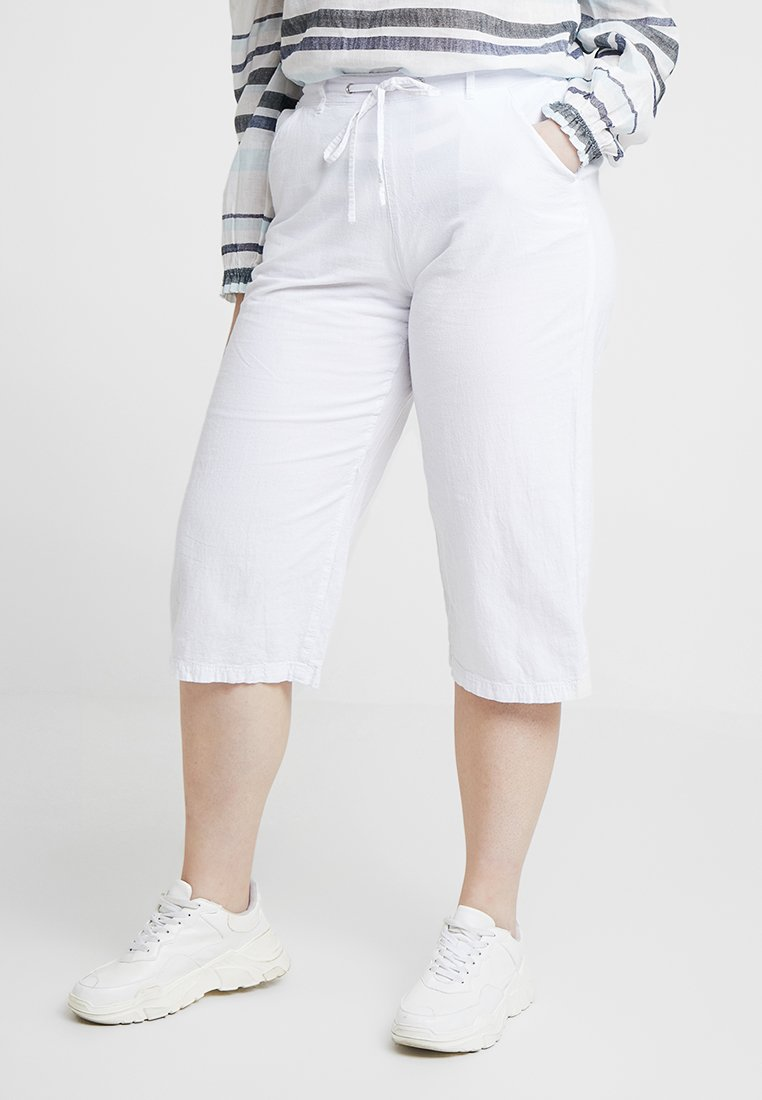 Zizzi - MARROCCO CULOTTE - Shorts - bright white