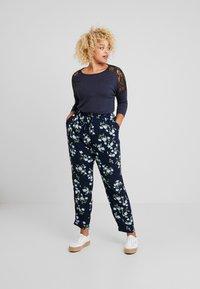 Zizzi - LONG PANTS - Pantalon classique - dark blue - 1