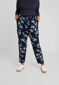 Zizzi - LONG PANTS - Pantalon classique - dark blue - 0