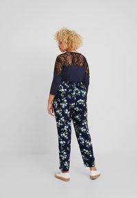 Zizzi - LONG PANTS - Pantalon classique - dark blue - 2