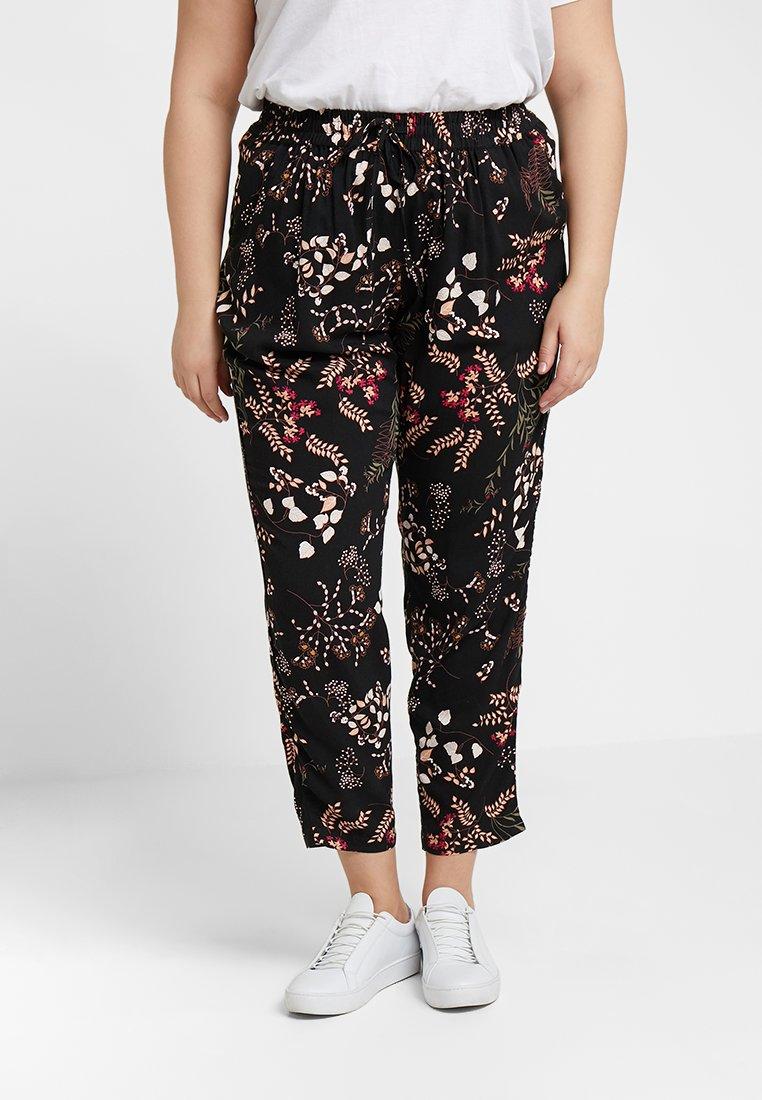 Zizzi - LONG PANTS - Trousers - multi-coloured