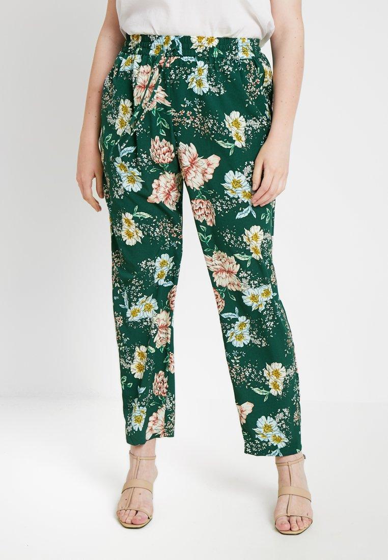 Zizzi - VVIOLA LONG PANT - Trousers - green