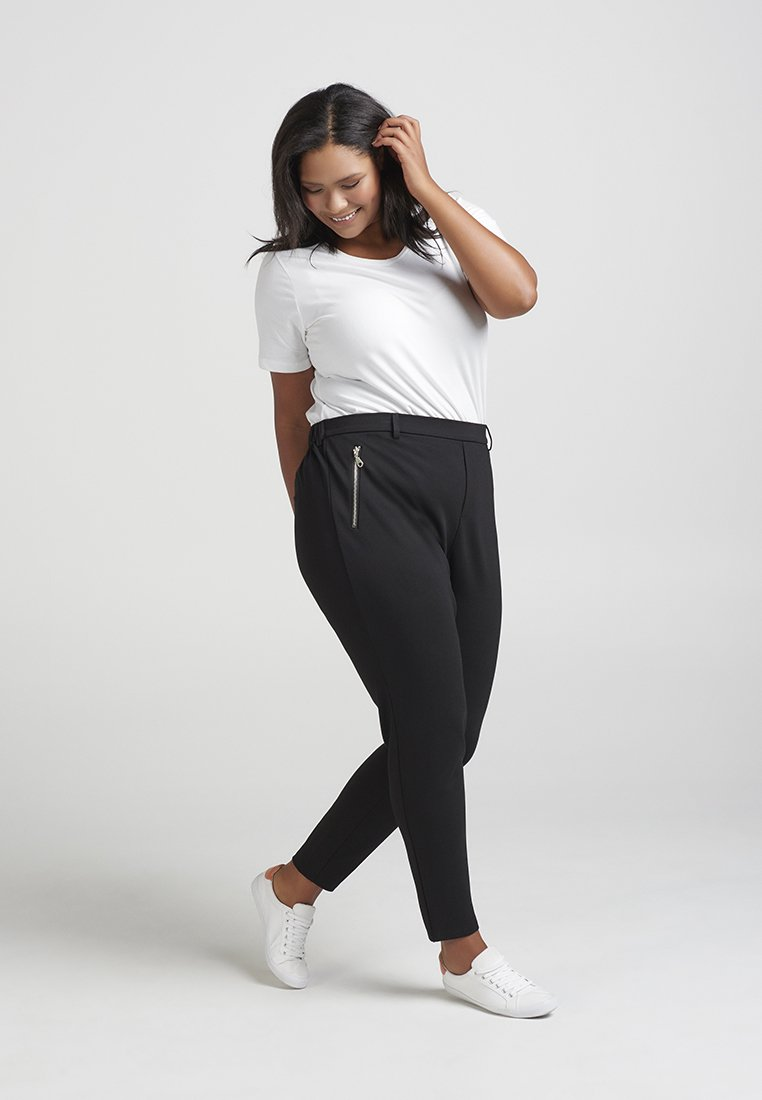 Zizzi - Trousers - black