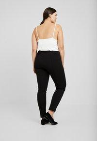 Zizzi - EXCLUSIVE ERICCI PANTS - Leggings - Trousers - black - 2