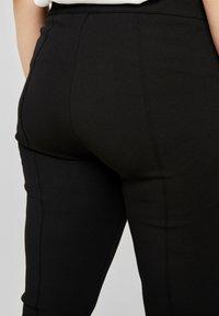 Zizzi - EXCLUSIVE ERICCI PANTS - Leggings - Trousers - black - 3