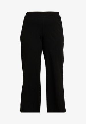 SANDIE WIDE PANT - Træningsbukser - black