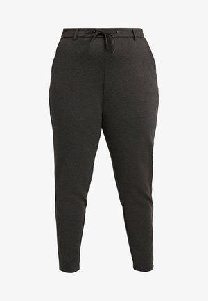 JMADDISON CROPPED PANT - Trousers - dark grey melange
