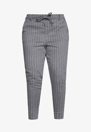 JMADDISON PANT - Pantalones - grey pinstripe