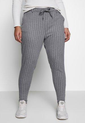 JMADDISON PANT - Kalhoty - grey pinstripe