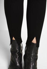Zizzi - JCURL CROPPED - Leggings - black - 4