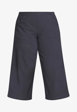 JALLY CULOTTE - Pantalon classique - mood indigo