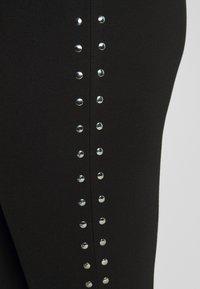 Zizzi - SAMARA LONG - Leggings - black - 4