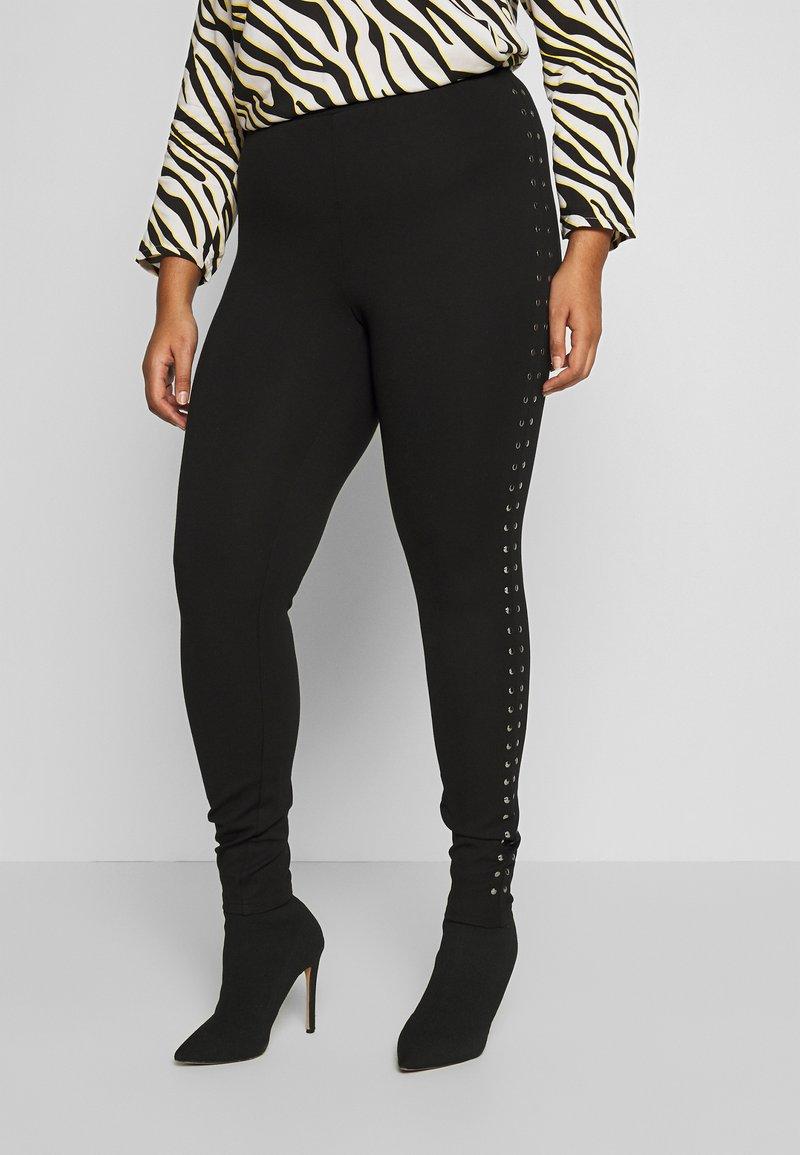 Zizzi - SAMARA LONG - Leggings - black