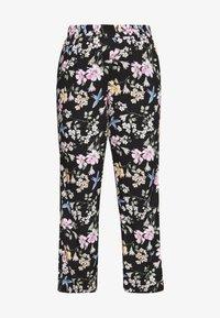 Zizzi - LONG LOOSE PANT - Trousers - black - 3