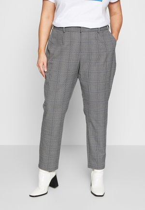 Broek - grey with blue check