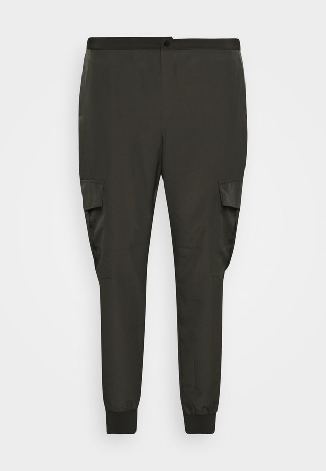 PANTS - Cargo trousers - peat