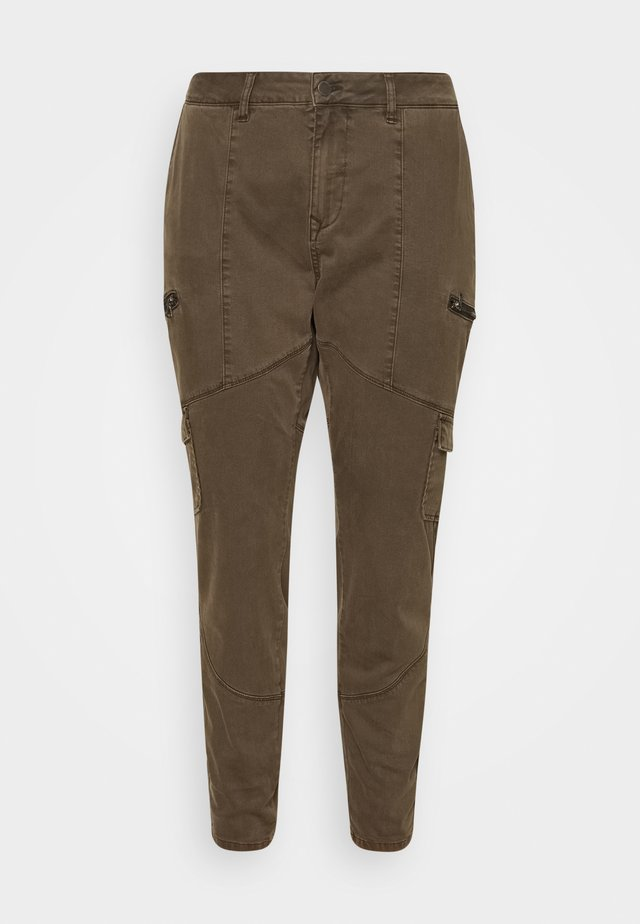 JCAMRYN LONG PANT - Trousers - army green
