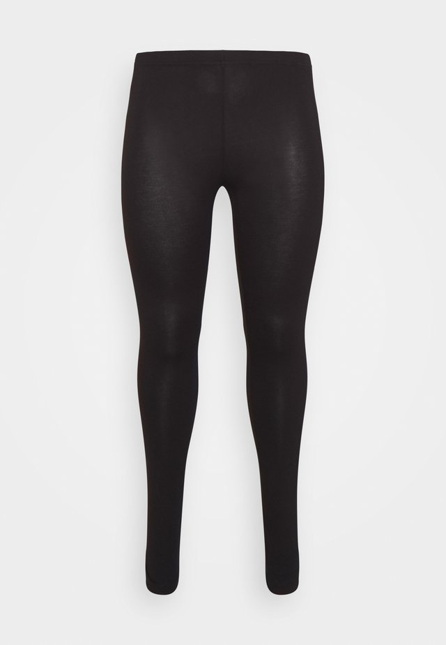 LONG - Leggingsit - black