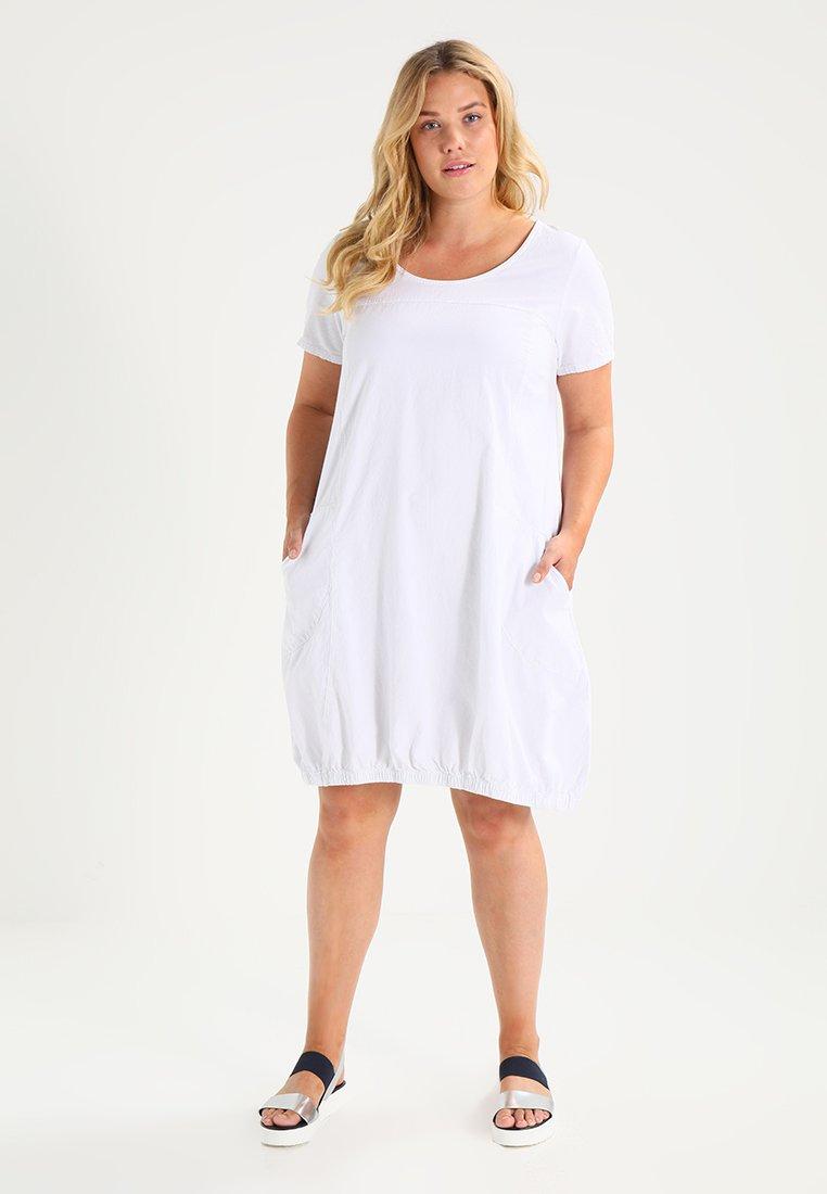 Zizzi - MMARRAKESH DRESS - Day dress - white