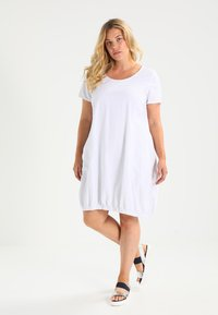 Zizzi - MMARRAKESH DRESS - Day dress - white - 1