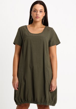 MMARRAKESH DRESS - Korte jurk - ivy green
