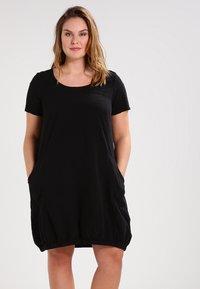 Zizzi - MMARRAKESH DRESS - Denní šaty - black - 0