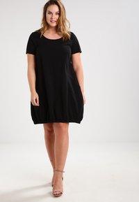 Zizzi - MMARRAKESH DRESS - Denní šaty - black - 1