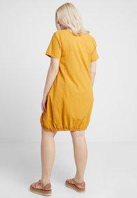 Zizzi - MMARRAKESH DRESS - Day dress - golden yellow - 2
