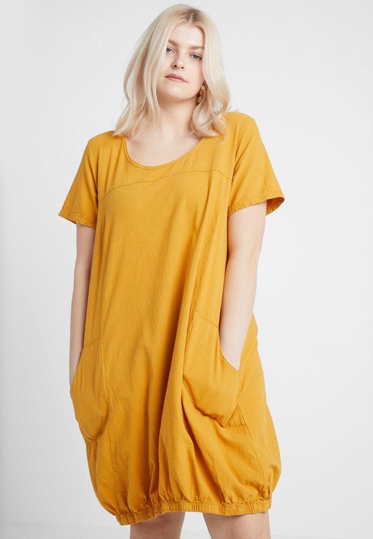 Zizzi - MMARRAKESH DRESS - Day dress - golden yellow