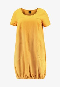 Zizzi - MMARRAKESH DRESS - Day dress - golden yellow - 3