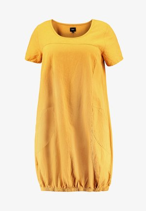 MMARRAKESH DRESS - Vapaa-ajan mekko - golden yellow