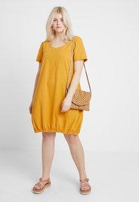 Zizzi - MMARRAKESH DRESS - Day dress - golden yellow - 1